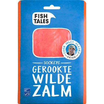 Fish Tales Gerookte sockeye zalm