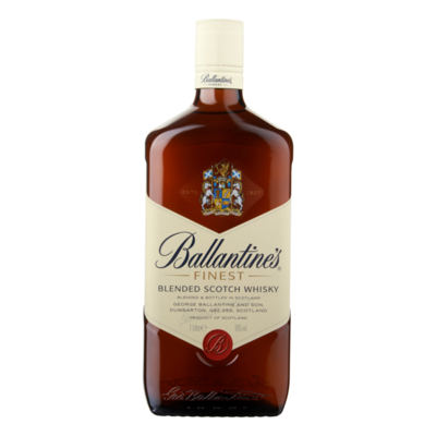 Ballantine's Scotch Whisky Scotland Finest