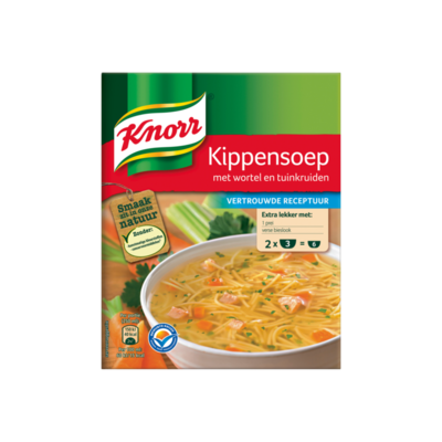 Knorr Mix Kippensoep 2 Porties