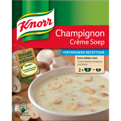 Knorr Champignonsoep duopak