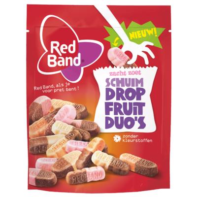 Red Band Dropfruit duo's schuim zacht/zoet