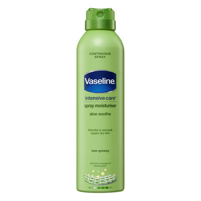 Vaseline Bodylotion spray aloe soothe