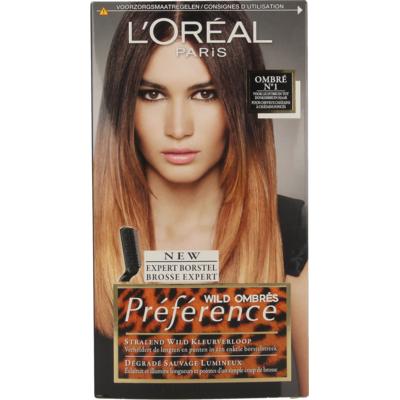 L'Oréal Paris Préférence Wild Ombrés – Ombré No. 1