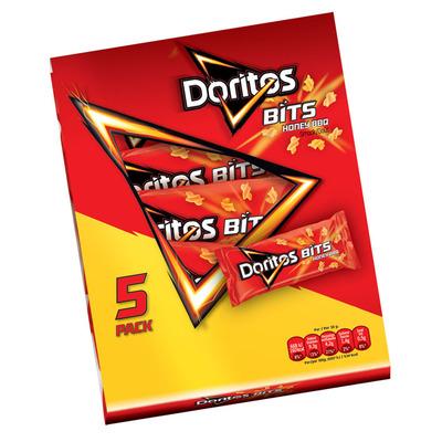 Doritos Bits 5-pack honey barbecue