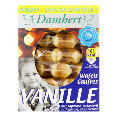 Damhert Vanille wafels tagatose suikerbewust
