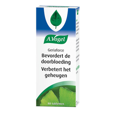 A. Vogel Geriaforce tabletten