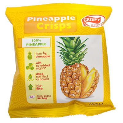 Crispy Pineapple crisps