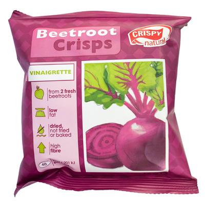 Crispy Beetroot crisps