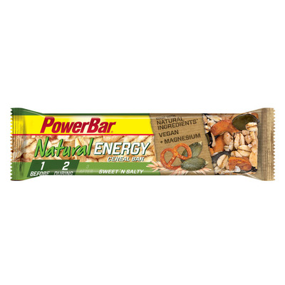Powerbar Natural energy cereal sweet n salty