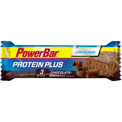 Powerbar Protein plus choclate brownie