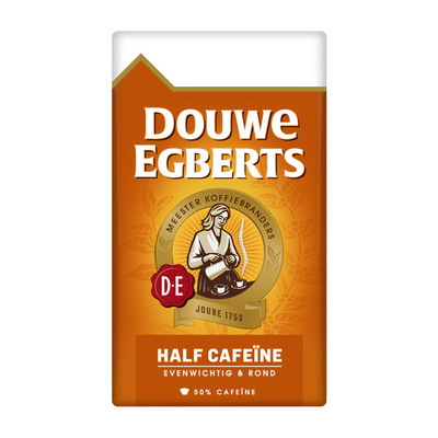 Douwe Egberts Half cafeïne filterkoffie