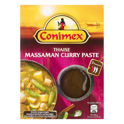 Conimex Curry paste massaman