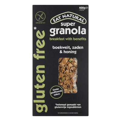 Eat Natural Super granola gluten free boekweit