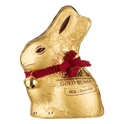 Lindt Lindor gouden paashaas melkchocolade