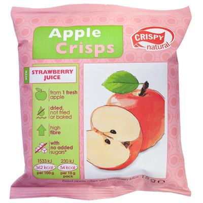 Crispy Crunch me! apple-strawberry juice