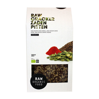 Raw Organic Food Crackers zaden en pitten