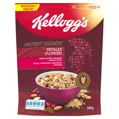Kellogg's Ancient legends flakes rogge-veenbes
