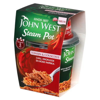 John West Steam pots tonijn chili- knoflook