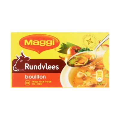 Maggi Rundvlees Bouillon 10 Tabletten
