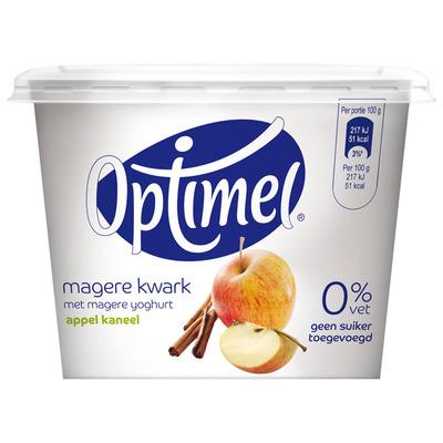 Optimel Kwark 0% vet appel-kaneel