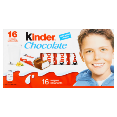 Kinder Chocolate 16 Reepjes 200 g