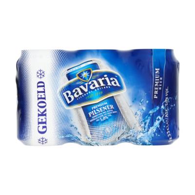 Bavaria Premium Pils 5.0% Gekoeld Blik Bier