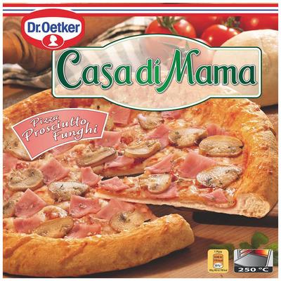 Dr. Oetker Casa di Mama pizza prosciutto funghi