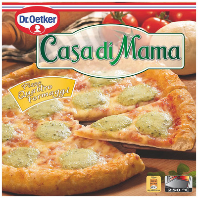 Dr. Oetker Casa di Mama pizza quattro formaggi