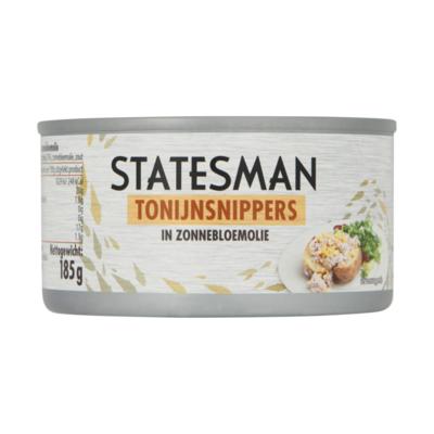 Statesman Tonijnsnippers in Zonnebloemolie