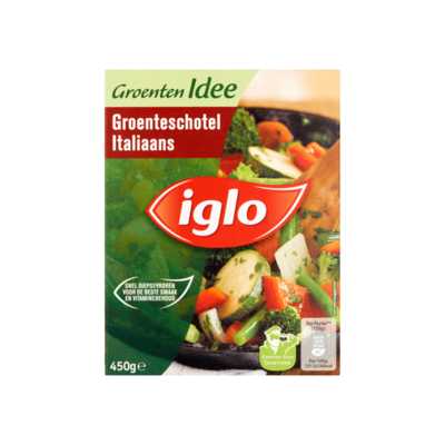 Iglo Groenten Idee Groenteschotel Italiaans