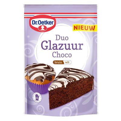 Dr. Oetker Duo glazuur choco