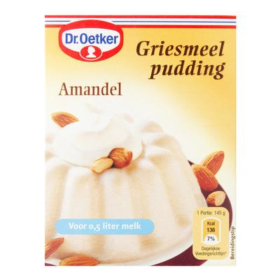 Dr. Oetker Griesmeelpudding amandel