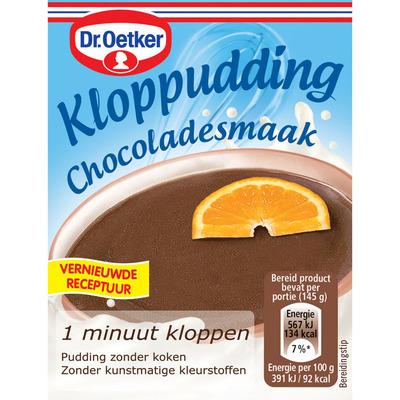 Dr. Oetker Kloppudding chocolade