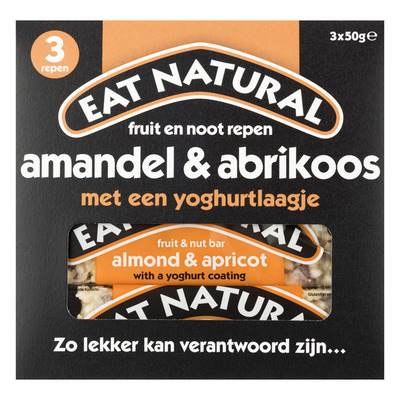 Eat Natural Fruit en noot repen amandel-abrikoos