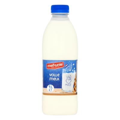 Melkunie Volle Melk 1 L Fles