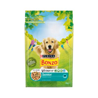 Bonzo Vitafit Senior met Kip en Groenten