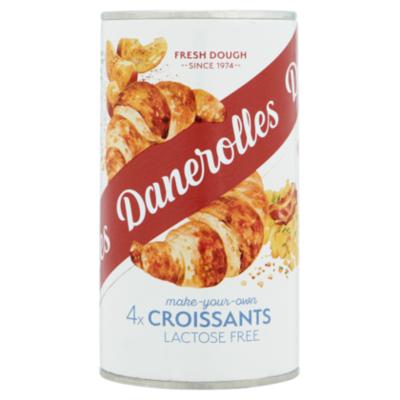 Danerolles Lactose vrije croissants