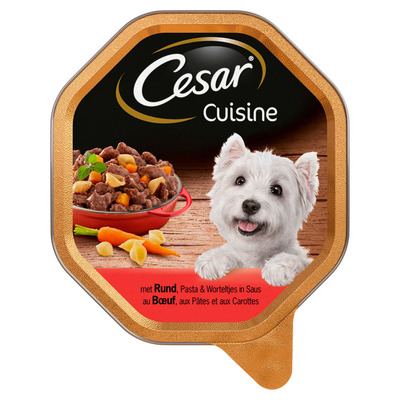 Cesar Cuisine pasta & wortelen alu kuipje