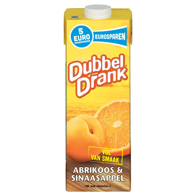 Dubbeldrank Abrikoos-sinaasappel