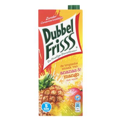 DubbelFrisss Ananas & mango