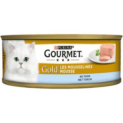 Gourmet Gold mousse met tonijn