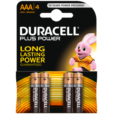 Duracell Rechargeable aaa duralock