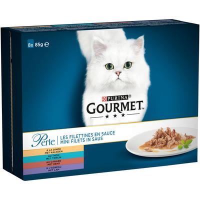 Gourmet Perle mini filets in saus met oa kalkoen