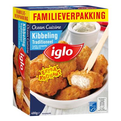 Iglo Ocean cuisine kibbeling traditioneel