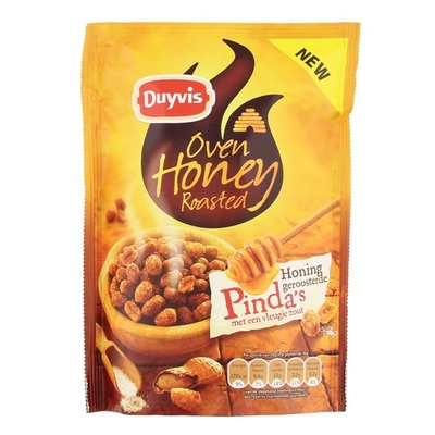 Duyvis Noten Oven Roasted Pinda'S Honey Roasted