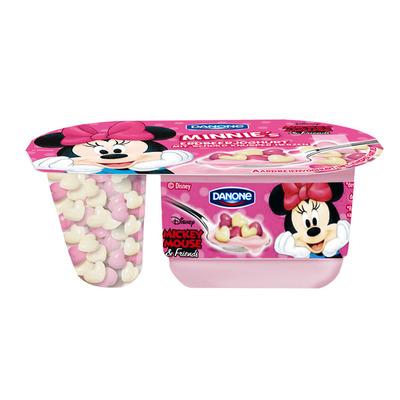 Danone Disney minnie mouse yoghurt