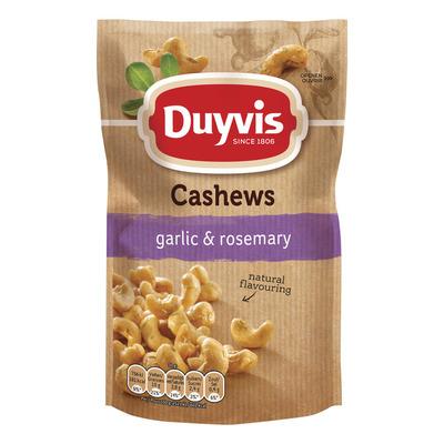 Duyvis Pure & natural cashews garlic rosemary