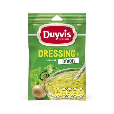 Duyvis Dressing Onion Uismaak 6gr