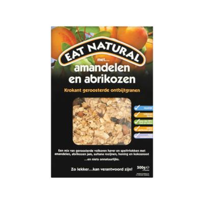 Eat Natural Krokant Geroosterde Ontbijtgranen met Amandelen en Abrikozen