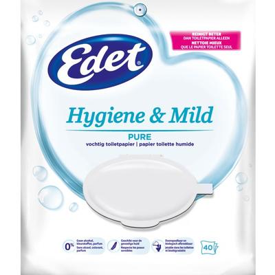 Edet Pure vochtig toiletpapier